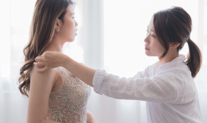 IAM Bridal 手工訂製婚紗 | 95463982 1515946961915982 970927513888882688 o