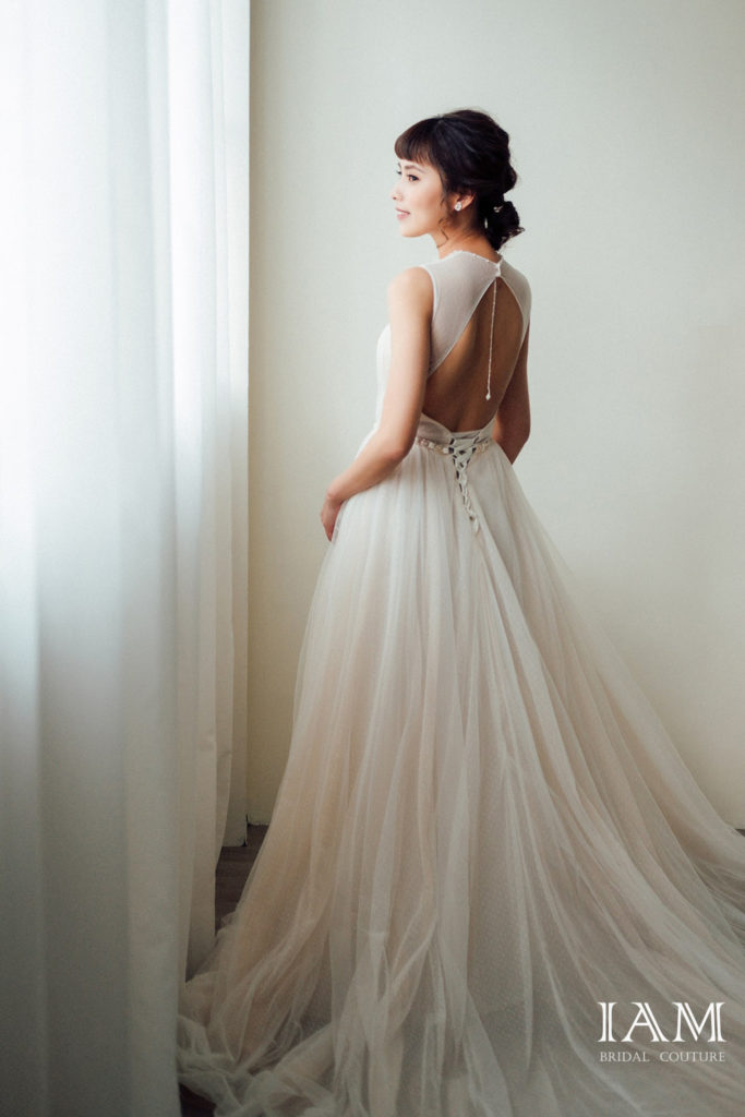 IAM Bridal 手工訂製婚紗 | DSCF8786 min