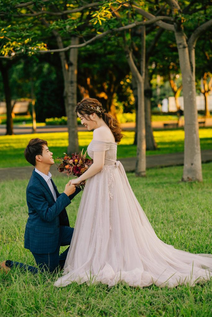 IAM Bridal 手工訂製婚紗 | mangoMANL8834
