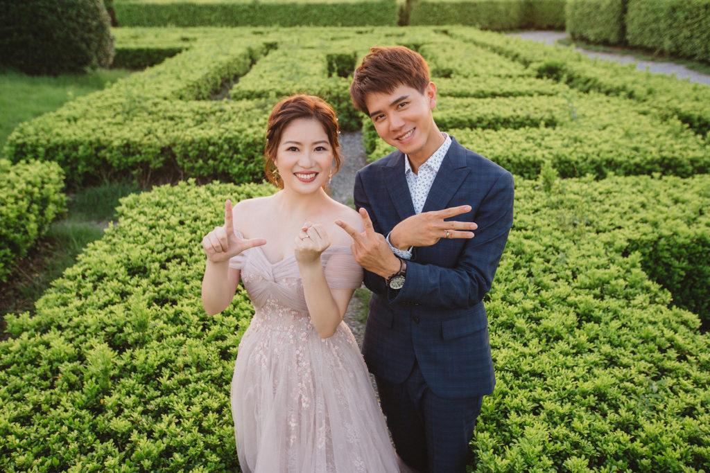 IAM Bridal 手工訂製婚紗 | mangoMANL8906