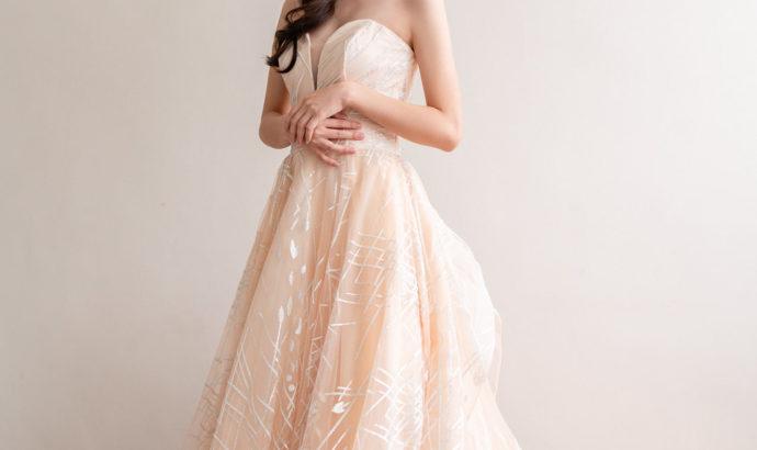 IAM Bridal 手工訂製婚紗 | wills 6128 min