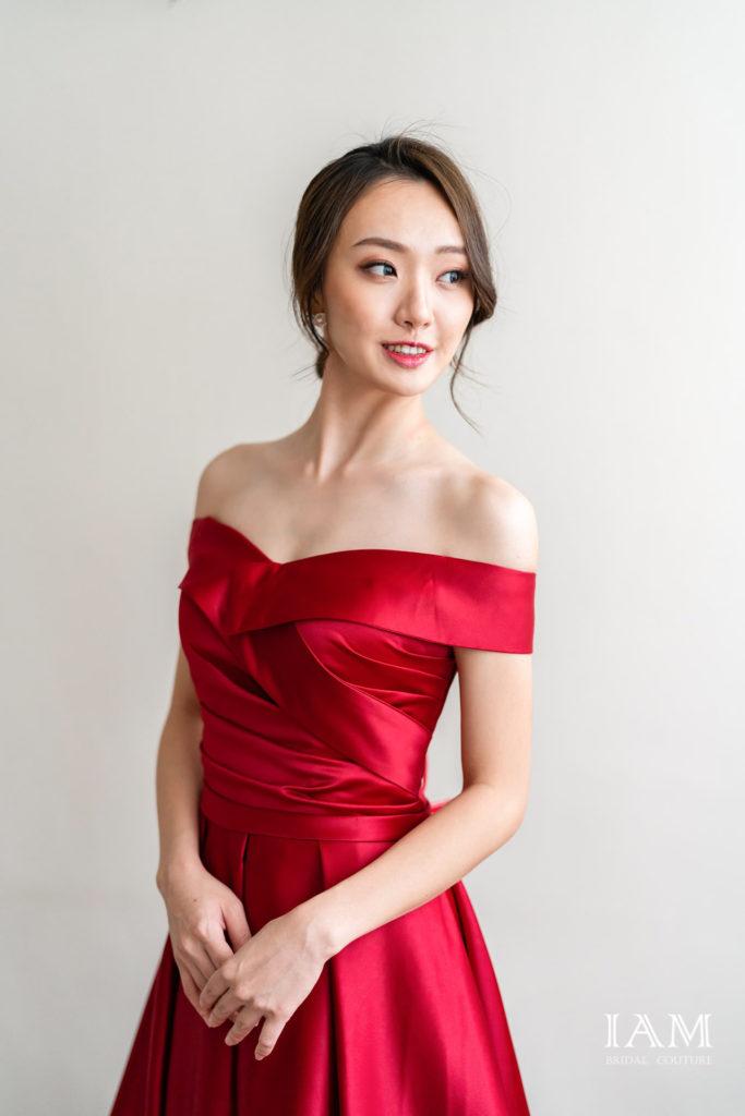 IAM Bridal 手工訂製婚紗 | wills 6116 min