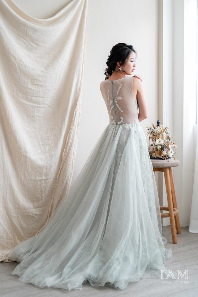 IAM Bridal 手工訂製婚紗 | wills 6129 min