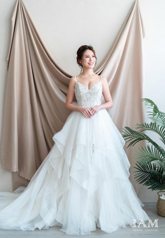 IAM Bridal 手工訂製婚紗 | wills 555 min