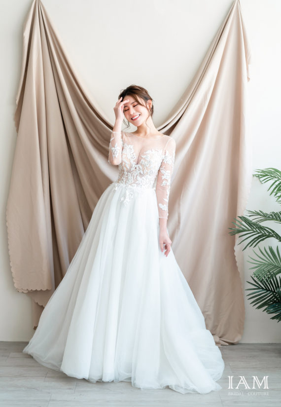 IAM Bridal 手工訂製婚紗 | wills 579