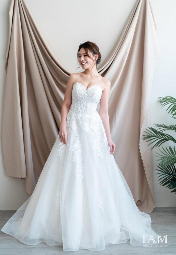 IAM Bridal 手工訂製婚紗 | wills 580 min