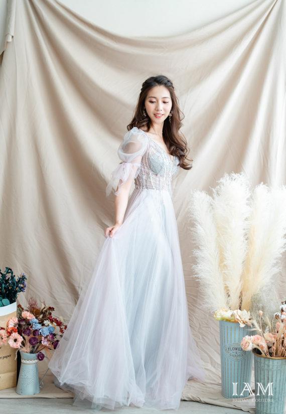 IAM Bridal 手工訂製婚紗 | wills 6002 min 1