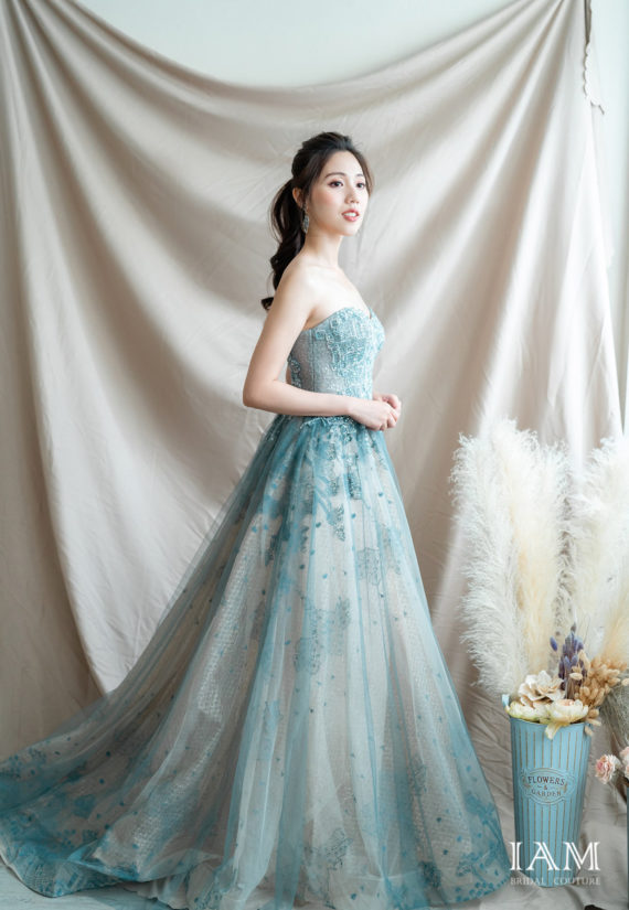 IAM Bridal 手工訂製婚紗 | wills 6032 min 1