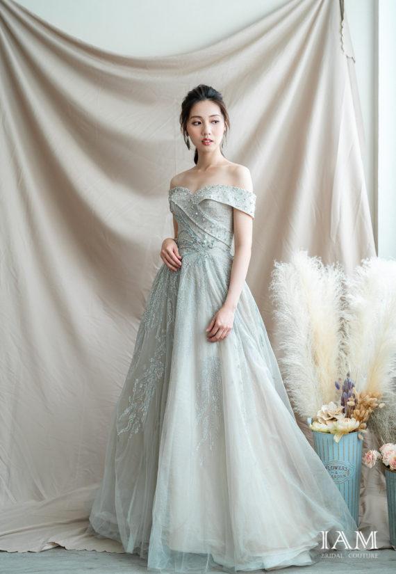 IAM Bridal 手工訂製婚紗 | wills 6035 min 1