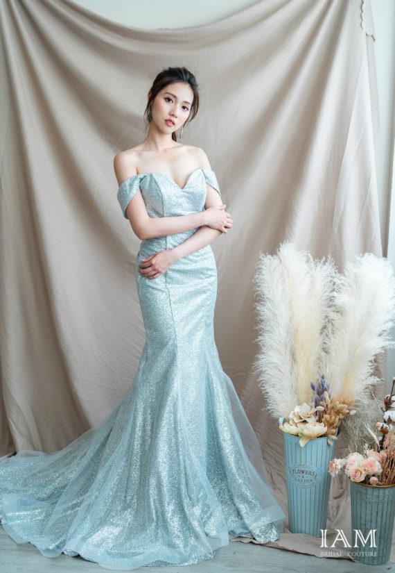 IAM Bridal 手工訂製婚紗 | wills 6042 min 2
